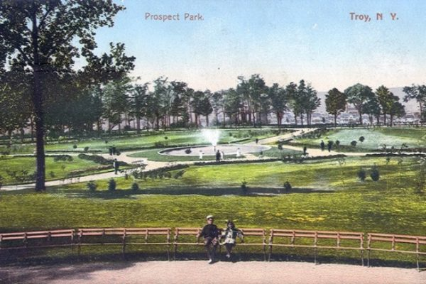 Prospect Park is an 80-acre city park that was designed in 1903 by Garnet Baltimore, the first African-American graduate of Rensselaer Polytechnic Institute (RPI). The park is located off Congress Street, south and slightly west of the RPI campus, in the Mount Ida section of Troy.